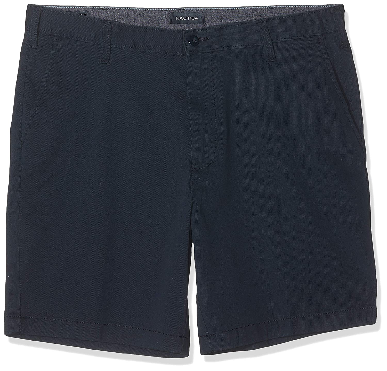 Nautica Men's Chino Bermuda Shorts: : Vêtements et