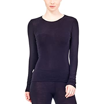 Icebreaker Women's Everyday Long Sleeve Crewe Top