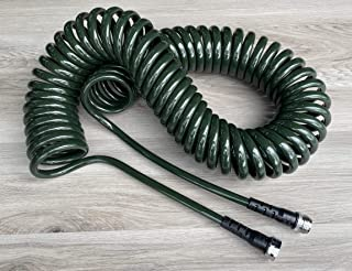 product image for Water Right Professional Coil Garden Hose, Lead Free & Drinking Water Safe, 50-Foot x 3/8-Inch, Rosemary