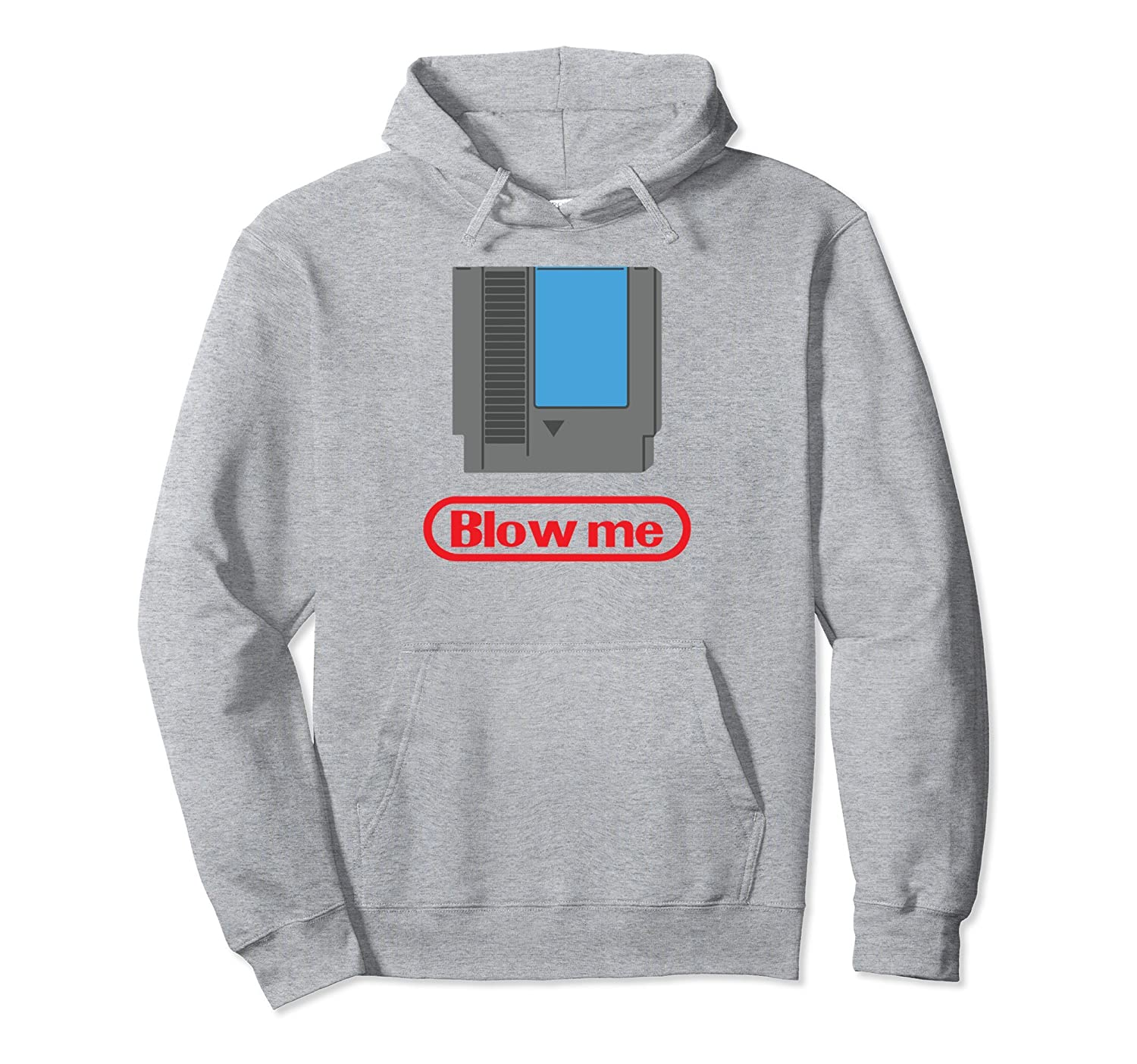 Funny Video Gamer Parody - Blow Me 80s Hoodie-alottee gift