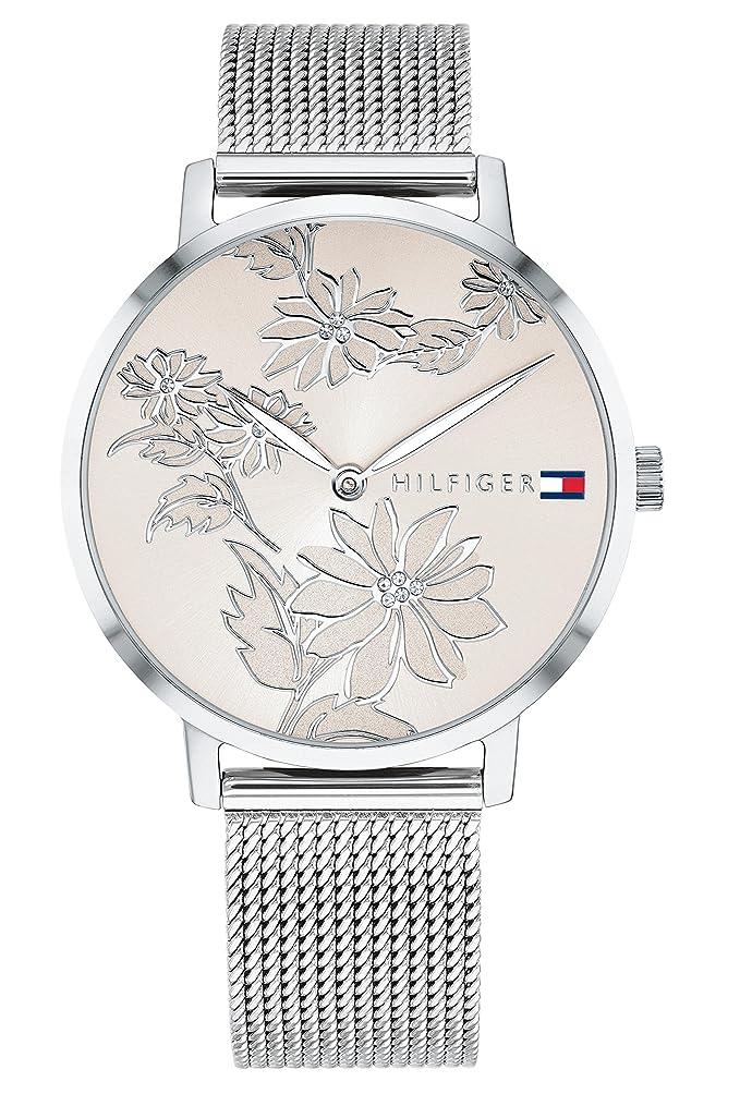 Tommy Hilfiger Reloj Analógico para Mujer de Cuarzo con Correa en Acero Inoxidable 1781920