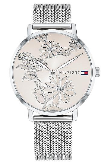 Tommy Hilfiger Reloj Analógico para Mujer de Cuarzo con Correa en Acero Inoxidable 1781920: Amazon.es: Relojes