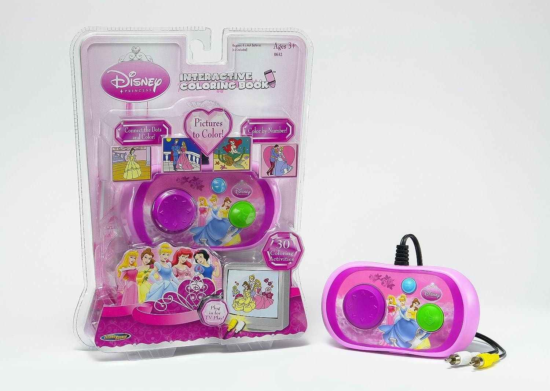 Amazon Techno Source Disney Princess Interactive Coloring Book Toys Games