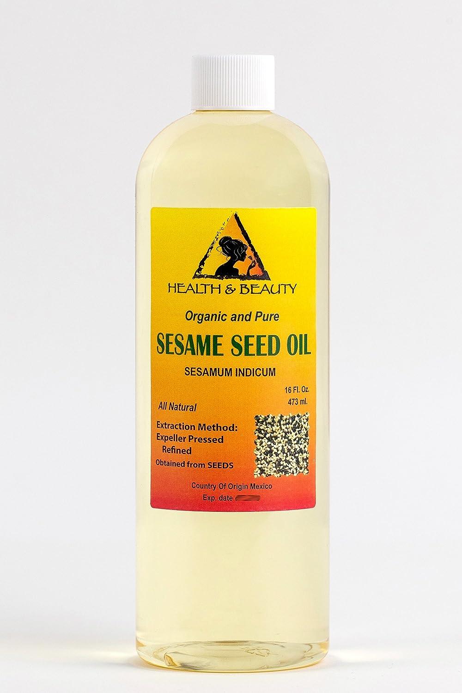 Amazon.com: Aceite de sésamo orgánico refinado Carrier ...