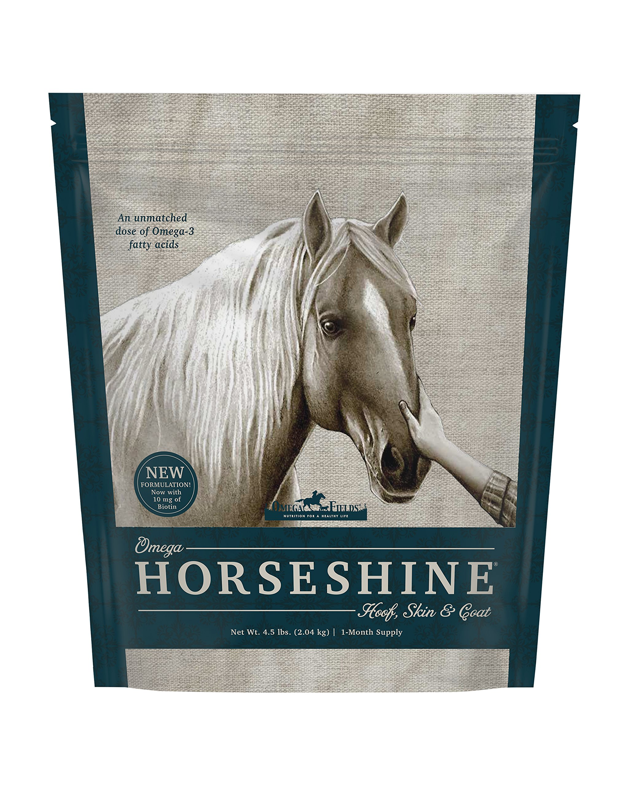 Omega Horseshine 3 Supplement, 4.5 Lb
