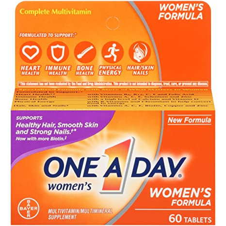 One-A-Day Womens Multivitamin, 60-Count by One-A-