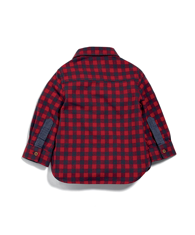 Mamas /& Papas Baby Boys Check Shirt