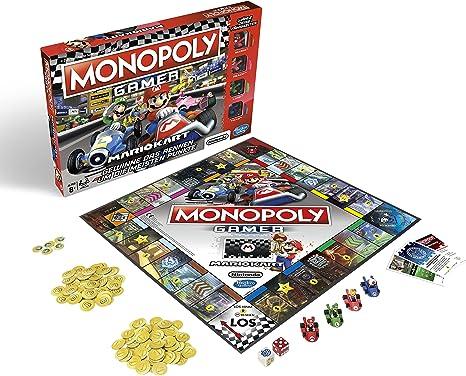 Monopoly Classic Gesellschaftsspiel für Erwachsene /& Kinder Familienspiel