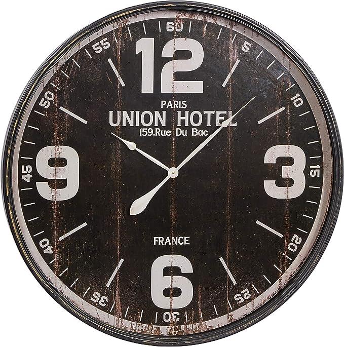Deco 79 52128 Metal Wall Clock 35 Home Kitchen