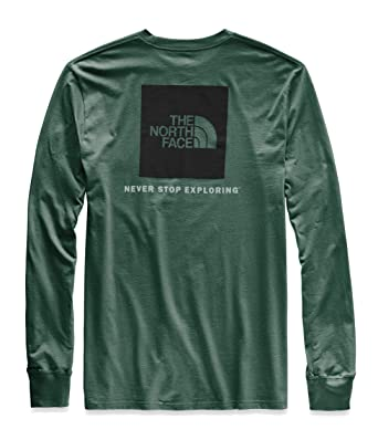 f44aa60e0 The North Face Men s Long Sleeve Red Box Tee at Amazon Men s ...