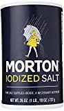 Morton Iodized Table Salt, All-Purpose Iodized Salt