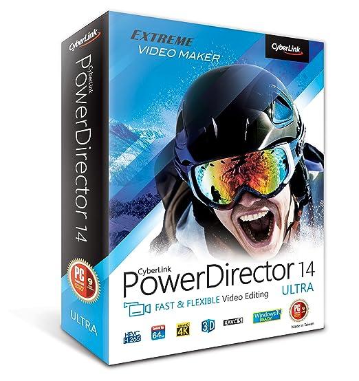 Amazon.com: Cyberlink PowerDirector 14 Ultra: Software