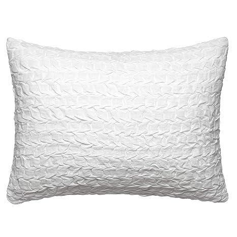 Amazon.com: Vera Wang Crinkle Herringbone - Cojín (5.9 x 7.9 ...