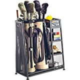 Suncast Golf Bag Garage Organizer Rack - Golf Equipment Organizer Storage -  Store Golf Bags
