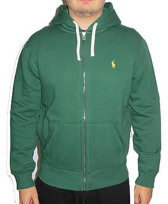 2e865592a07d56 Ralph Lauren - Sweat-Shirt à Capuche - Homme - Vert - XX-Large ...
