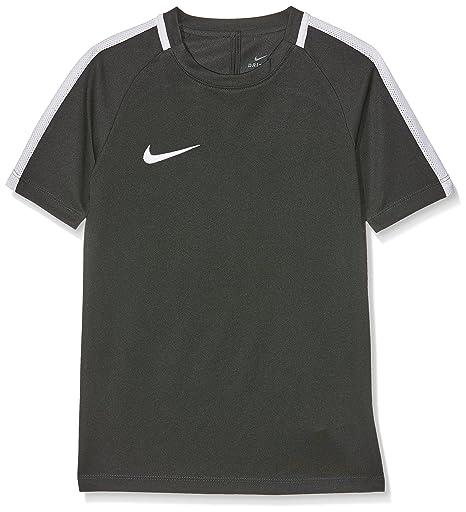 Nike Y NK Dry Acdmy SS, Camiseta para Unisex Niños, Negro/Blanco,