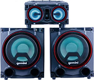 Gemini GSYS-2000 Home Party and Theater Audio System with 2000W Dual 8