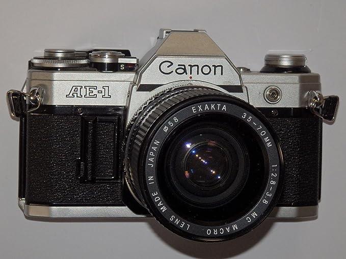 Cámara Réflex fotos Camera - SLR Canon AE de 1 AE1 incl. Lente Mc ...
