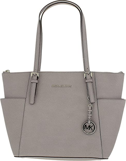 8f1b66e52563d MICHAEL Michael Kors womens Jet Set Top Zip Tote Purple Size  One Size   Amazon.co.uk  Shoes   Bags