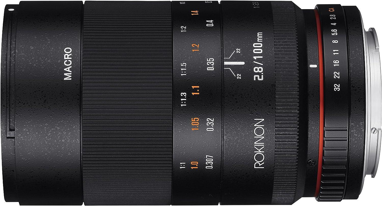 Rokinon 100mm F2 8 Ed Umc Full Frame Telephoto Macro Kamera