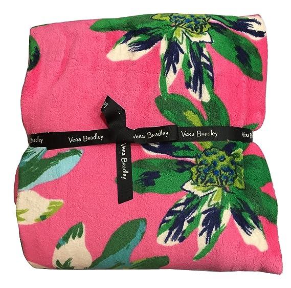 53bf19233d3e Amazon.com  Vera Bradley Throw Blanket (Tropical Paradise)  Home ...