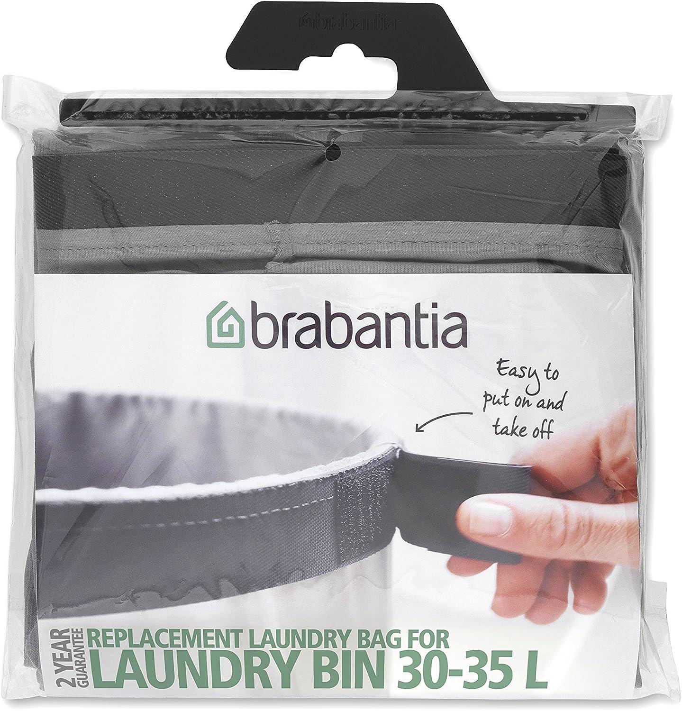 Grey Brabantia Replacement Inner Bag for Laundry Bin 35 L