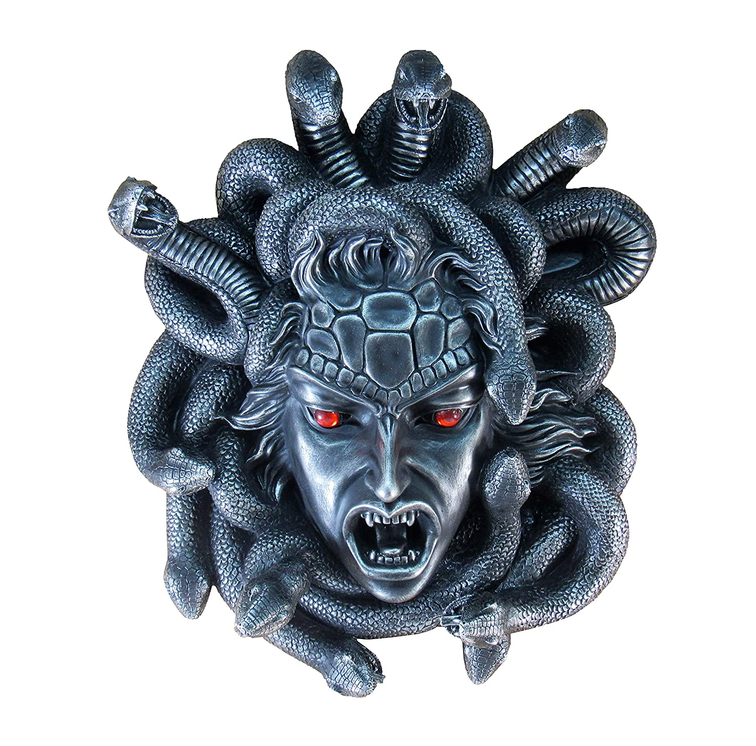 Medusa Decorative Figurine Collectible Wall Decor Figurine in Fantasy Statues Sculptures Wall Mount Wall D cor Gifts For your Home