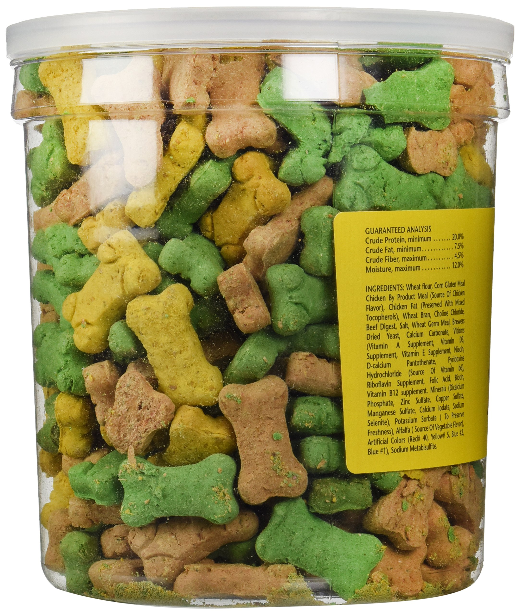 Sunshine Pet Treats Pet Life 2.2lb Oven Baked Multi Flavored Puppy Biscuits