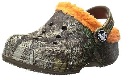 ae7f1e7cb3a8e2 crocs Boys  Baya Lined Realtreex Clog
