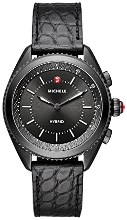 Amazon MICHELE Womens Hybrid Smartwatch Black IP Dial