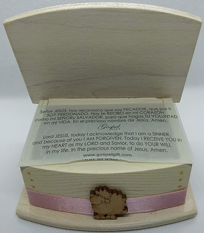 60 devotional and inspirational scripture cards in a wooden handmade box