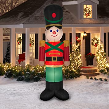 inflatable toy soldier 10ft giant - Outdoor Toy Soldier Christmas Decorations