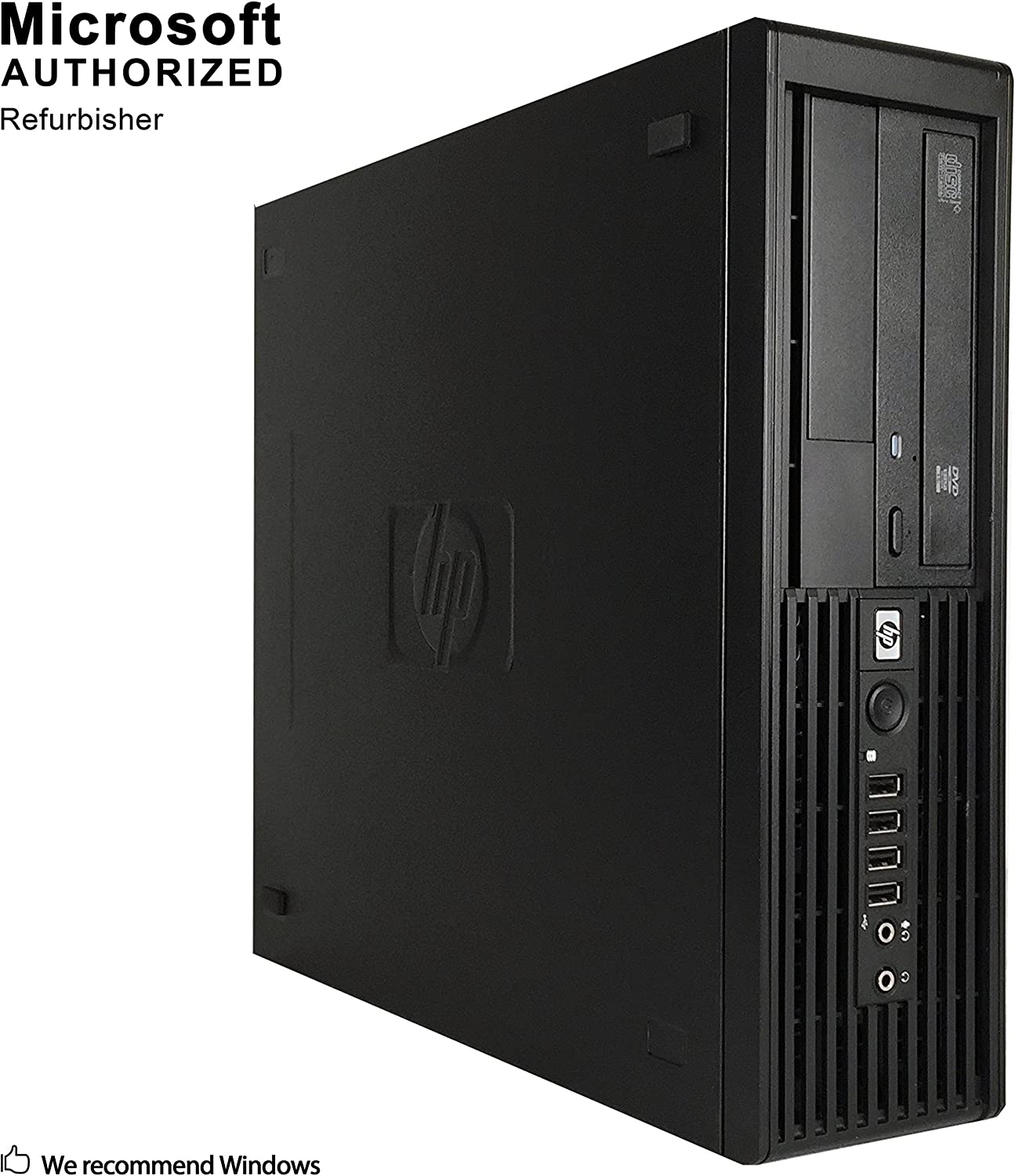 HP Z220 Workstation SFF,Intel Core I5 3570 up to 3.8G,8G DDR3, 360G SSD,DVD,WiFi,VGA,DP Port,HDMI,USB 3.0,BT 4.0,NVS 310 Graphics,W10P64 -Support-English/Spanish (Renewed)