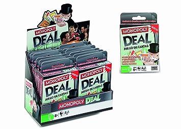 Hasbro 640190 - MB Juegos Cartas Monopoly