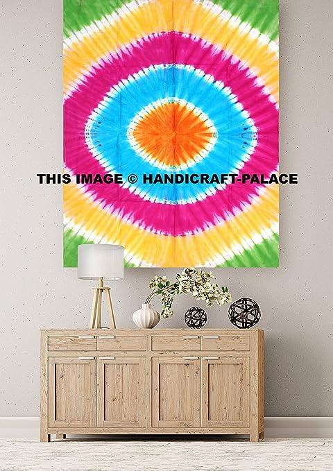 Amazon.com: Tie Dye Mandala Indio Tradicional De Algodón ...
