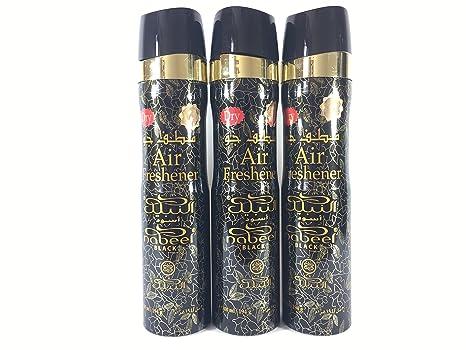 Lot de 2 parfum nabeel air freshener 300ml chambre maison voiture