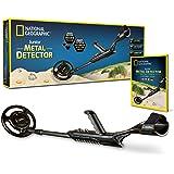 "NATIONAL GEOGRAPHIC Junior Metal Detector –Adjustable Metal Detector for Kids with 7.5"" Waterproof Dual Coil…"