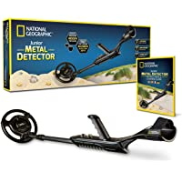 "NATIONAL GEOGRAPHIC Junior Metal Detector –Adjustable Metal Detector for Kids with 7.5"" Waterproof Dual Coil…"