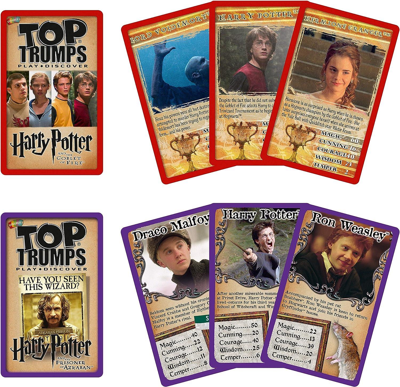 Top Trumps Juego de Lata Warner Brothers Harry Potter ...