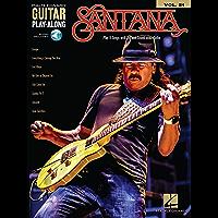 Santana: Guitar Play-Along Volume 21 (Hal-Leonard Guitar Play-Along) (English Edition)