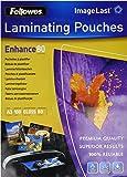 Fellowes Pouches Lucide Enhance80, 80 my, A3, 100 Pezzi, Modelli Assortiti