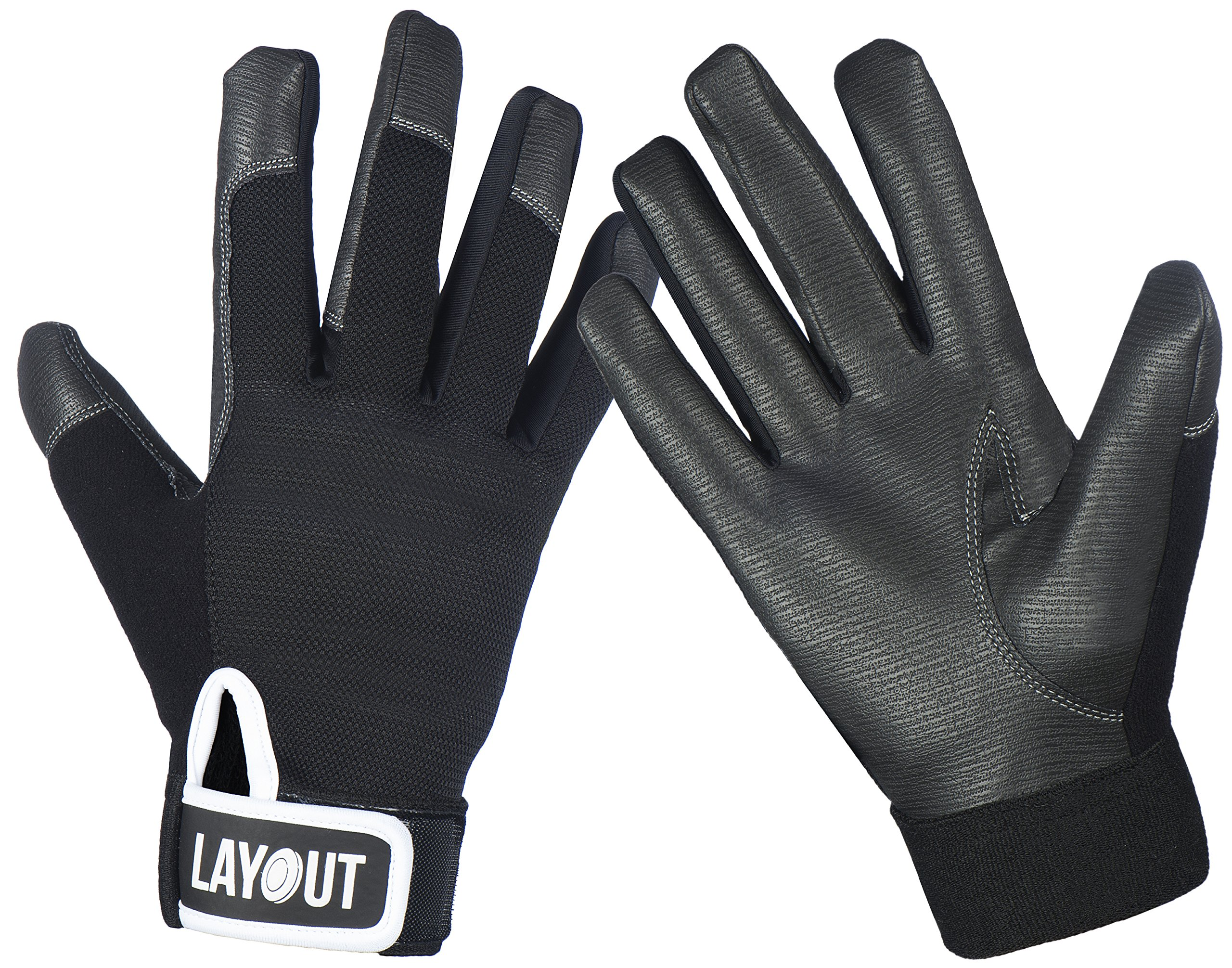 Layout Ultimate Frisbee Gloves - Ultimate Grip and Friction to Enhance Your Game! (XS)