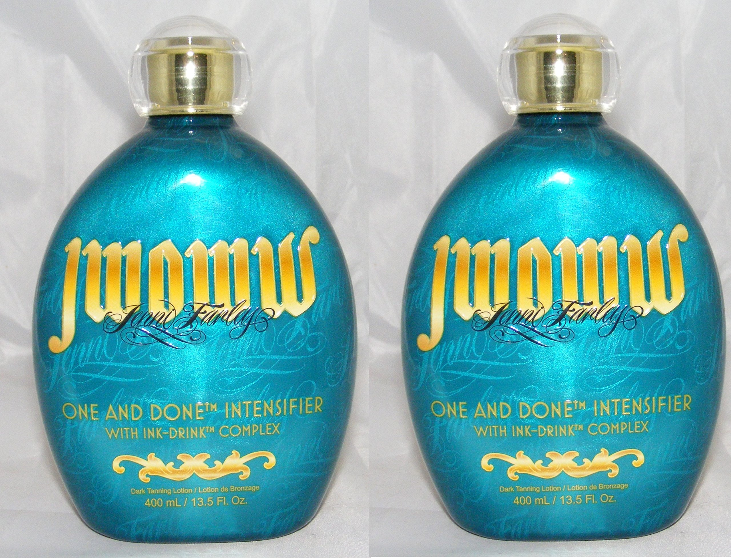 Lot of 2 New 2015 Australian Gold JWOWW ONE and DONE INTENSIFIER, 13.5 Ounce (400ml) 2 Bottles Twin Pack