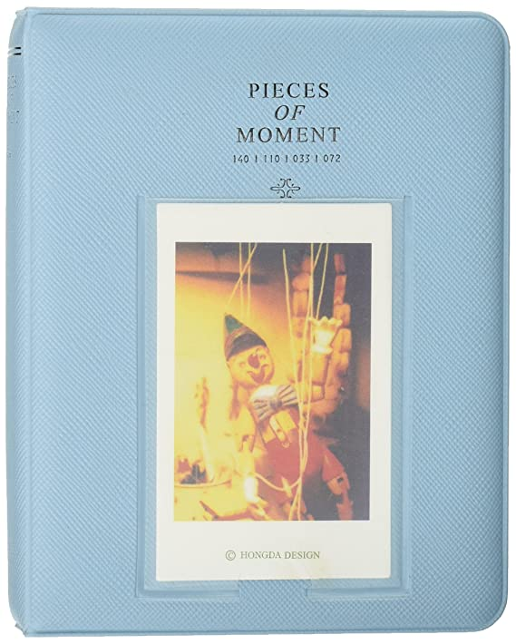 CaiulBasic Pieces of Moment PVC Mini Album (Blue) Photo Albums at amazon