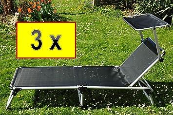 Campingbett Luxus   Statt Isomatte , 3 X Garten  U0026 Relaxliegen, Premium  Extrem