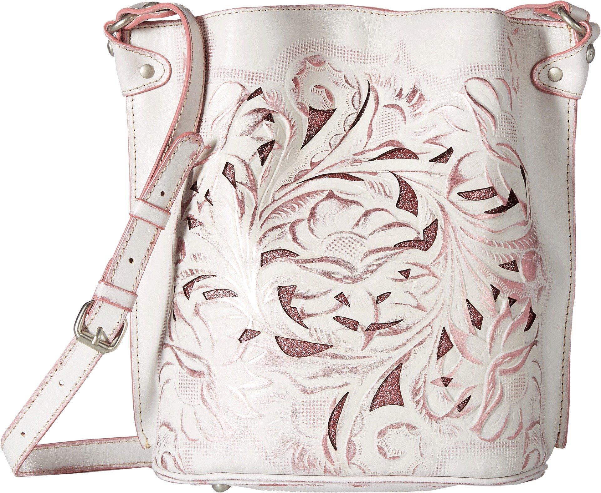 Patricia Nash Women's Lavello Sling White/Pink One Size