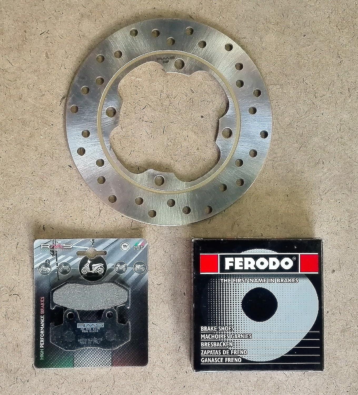 Kit frenos para Honda Dylan 125/2000//2005/Disco de freno delantero RMS 225162200/ mand/íbulas Ferodo fsb963