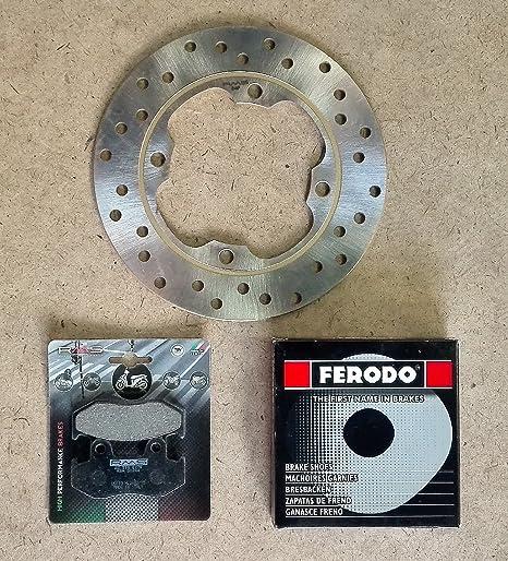 Bremssatz Für Honda Sh 150 2001 2008 Bremsscheibe Vorne Rms 225162200 Backen Ferodo Fsb963 Auto