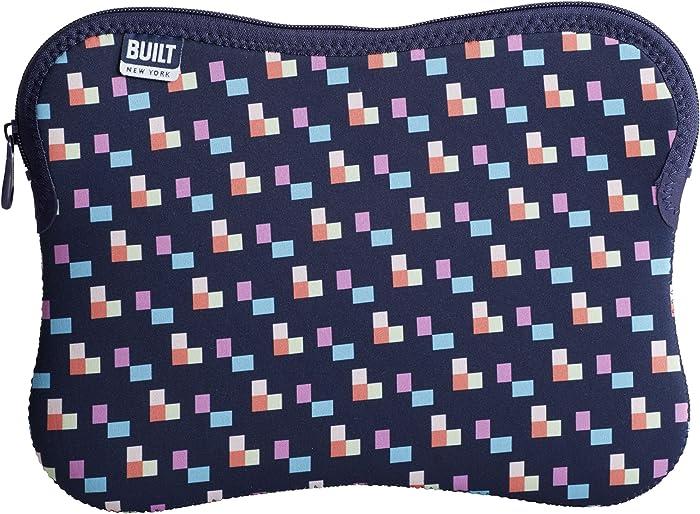 "BUILT NY Neoprene Laptop/Tablet Sleeve, 13"", Pixel Confetti (5178164)"