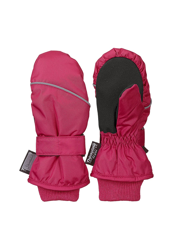 Sterntaler F/äustel f/ür Kinder Pink Handschuhe Wasserabweisend und reflektierend